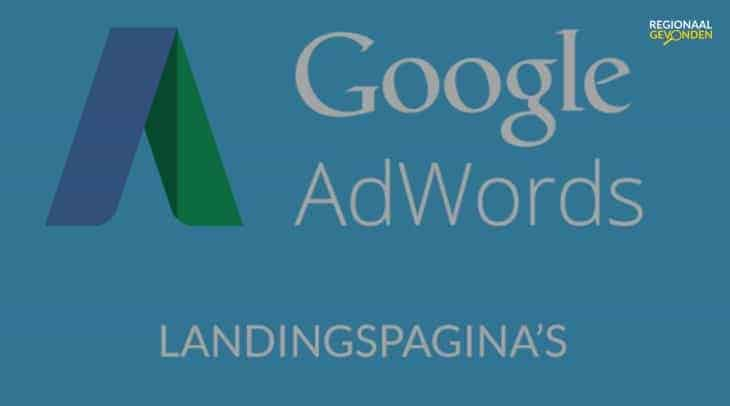 Google Adwords landingspagina